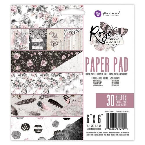 Prima - Rose Quartz Collection - 6 x 6 Paper Pad