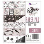 Prima - Rose Quartz Collection - 6 x 6 Paper Pad