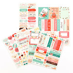 Prima - My Prima Planner Collection - Cardstock Stickers - Be Happy
