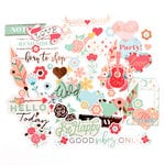 Prima - My Prima Planner Collection - Ephemera Pack - Be Happy
