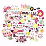 Prima - My Prima Planner Collection - Ephemera Pack - Good Vibes