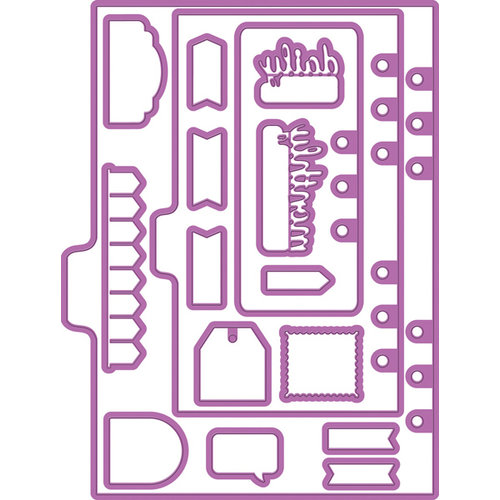 Prima - My Prima Planner Collection - Metal Dies - Shapes 1