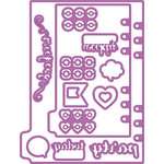 Prima - My Prima Planner Collection - Metal Dies - Shapes 3