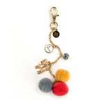 Prima - My Prima Planner Collection - Pom Pom Key Chain - Kitty Cat Love