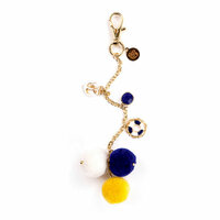 Prima - My Prima Planner Collection - Pom Pom Key Chain - Hey Sailor