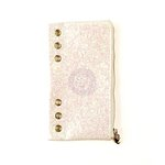Prima - My Prima Planner Collection - Pencil Pouch - White Glitter