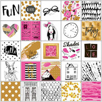 Prima - My Prima Planner Collection - Cardstock Stickers - Beauty Fashion with Foil Accents