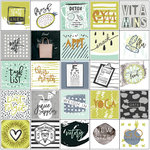 Prima - My Prima Planner Collection - Cardstock Stickers - Health Wellness with Foil Accents