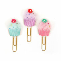 Prima - My Prima Planner Collection - Clips - Cupcakes