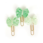 Prima - My Prima Planner Collection - Clips - Soft Mint