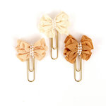Prima - My Prima Planner Collection - Clips - Sweet Toffee