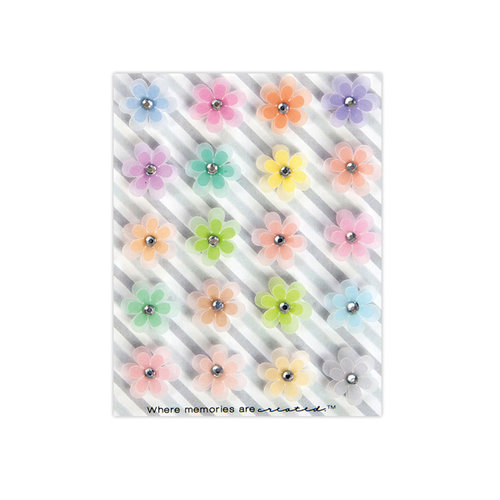 Prima - My Prima Planner Collection - Traveler's Journal - Flowers - Neon Flora