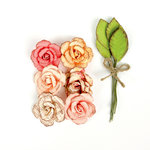Prima - Love Clippings Collection - Flower Embellishments - Forever and Always