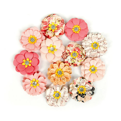 Prima - Love Clippings Collection - Flower Embellishments - My Dearest