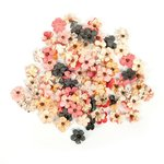 Prima - Love Clippings Collection - Flower Embellishments - Favorite Daydream