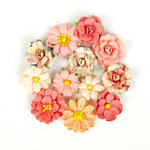 Prima - Love Clippings Collection - Flower Embellishments - U Are My World