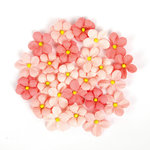 Prima - Love Clippings Collection - Flower Embellishments - Little Bits Of My Heart