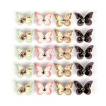 Prima - Wild and Free Collection - Flower Embellishments - Celestial