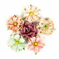 Prima - Wild and Free Collection - Flower Embellishments - Moonlit Passion