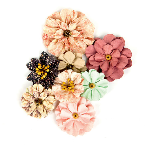 Prima - Wild and Free Collection - Flower Embellishments - Lost Meadows