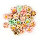 Prima - Wild and Free Collection - Flower Embellishments - Gypsy Heart