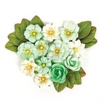 Prima - Wild and Free Collection - Flower Embellishments - Free Spirited