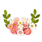 Prima - Flower Embellishments - Waverly