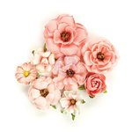Prima - Rose Quartz Collection - Flower Embellishments - Rosa Verona