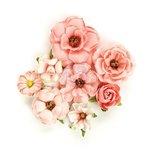 Prima - Rose Quartz Collection - Flower Embellishments - Rosa Verona