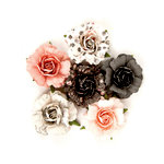 Prima - Rose Quartz Collection - Flower Embellishments - Provenza