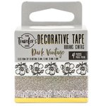 Prima - My Prima Planner Collection - Traveler's Journal - Decorative Tape - Dark Vintage