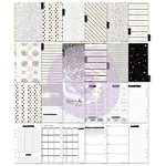 Prima - My Prima Planner Collection - A5 Inserts - Golden Plan - Jan 2018 to Dec 2019