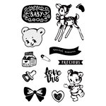 Prima - Heaven Sent 2 Collection - Cling Mounted Stamps