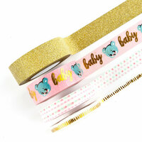Prima - Heaven Sent 2 Collection - Decorative Tape with Foil Accents