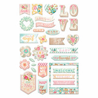 Prima - Heaven Sent 2 Collection - Puffy Stickers