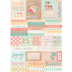 Prima - Heaven Sent 2 Collection - Cardstock Stickers - Words