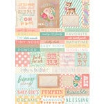 Prima - Heaven Sent 2 Collection - Cardstock Stickers - Words with Foil Accents