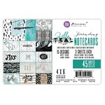 Prima - Zella Teal Collection - 4 x 6 Journaling Cards