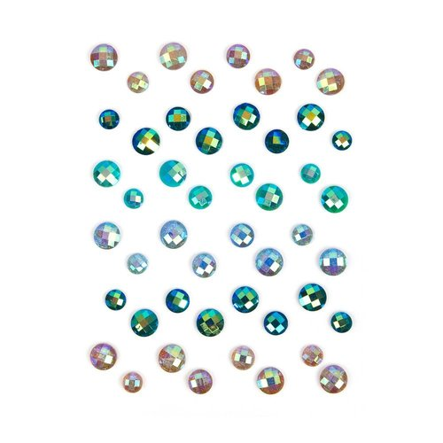 Prima - Zella Teal Collection - Say It In Crystals - Self Adhesive Jewels