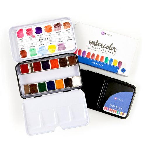Prima - Watercolor Confections - Odyssey