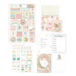 Prima - Heaven Sent 2 Collection - Planner Goodie Pack with Foil Accents