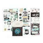 Prima - Zella Teal Collection - Planner Goodie Pack with Foil Accents
