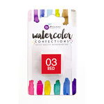 Prima - Watercolor Confections - Red