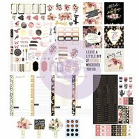 Prima - My Prima Planner Collection - Planner Kit - Midnight Bloom