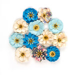 Prima - St. Tropez Collection - Flower Embellishments - Belle Isle