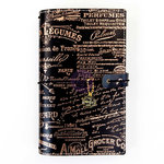 Prima - My Prima Planner Collection - Traveler's Journal - Standard - Amelia Rose - Amelia - Undated