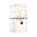 Prima - My Prima Planner Collection - Traveler's Journal - Personal - Amelia Rose - Rose - Undated