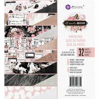 Prima - Amelia Rose Collection - 6 x 6 Paper Pad
