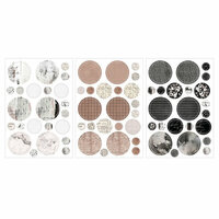 Prima - Amelia Rose Collection - Cardstock Stickers - Romantique