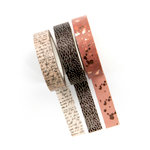 Prima - Amelia Rose Collection - Decorative Tape with Foil Accents - Pen Pal